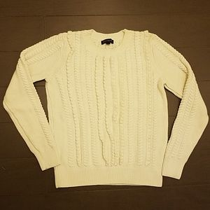 Banana Republic texture sweater